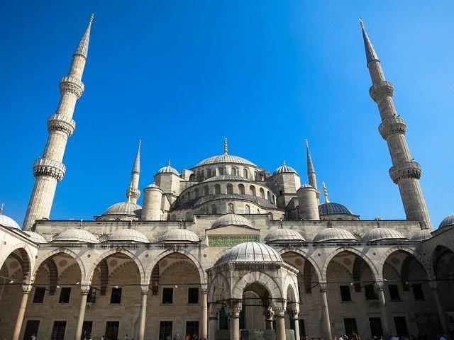 מסגד באיסטנבול, טורקיה